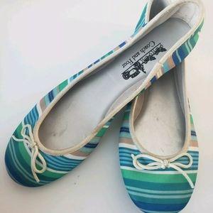 Coach shoes womens ballet Sz 8